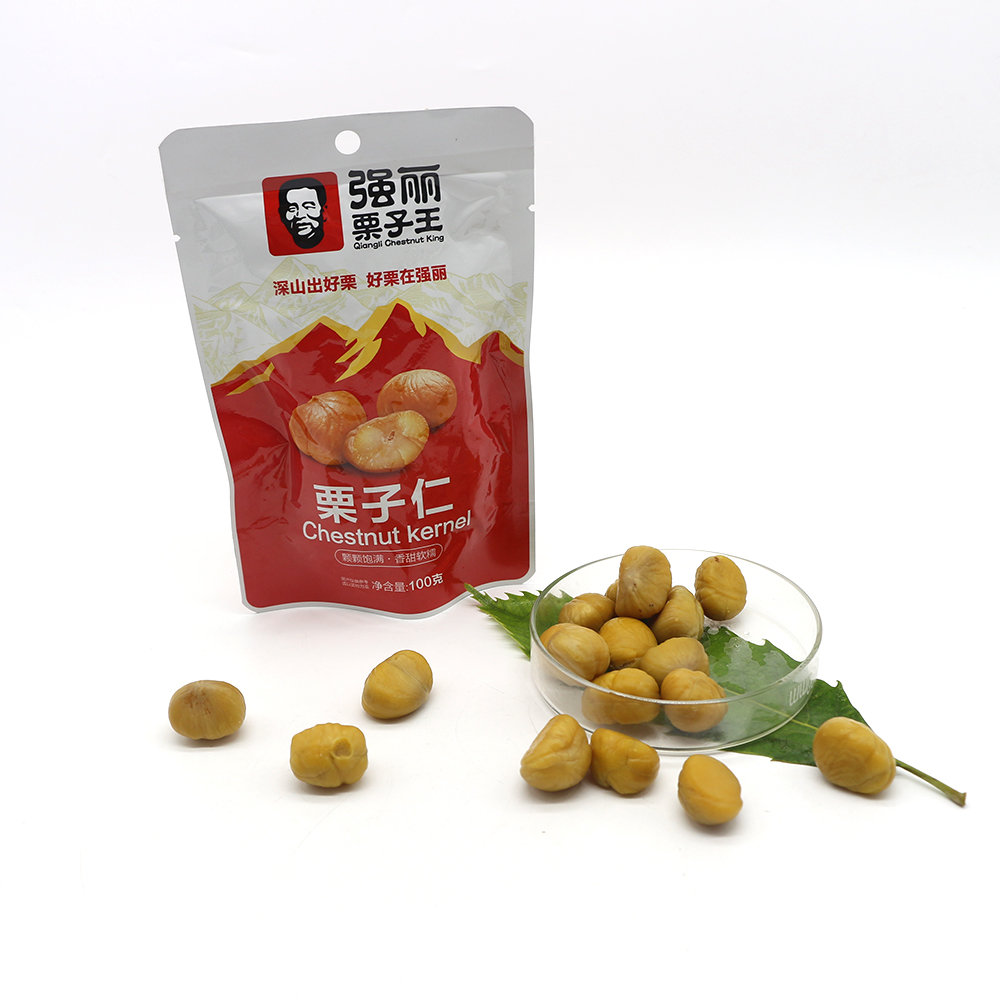 Easy To Carry And Nutritious Healthy Food Roasted Chestnuts