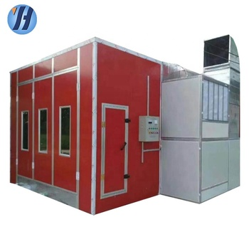 CE approved spray booth used paint booth/car painting machine for sale