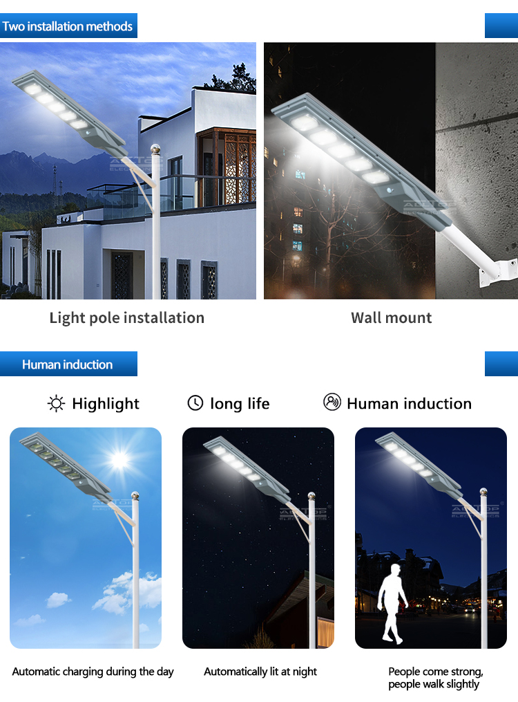 ALLTOP solar street light with panel and battery best quality manufacturer-13