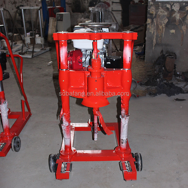 Electric start diesel gasoline ground drilling machine core drilling machine