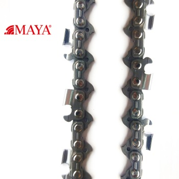 TOP manufacturer 100 feet Gasoline Chainsaw Part MAYA Chain 3/8 .050 Full-chisel 72LP 68CRNIMO33 Saw Chains