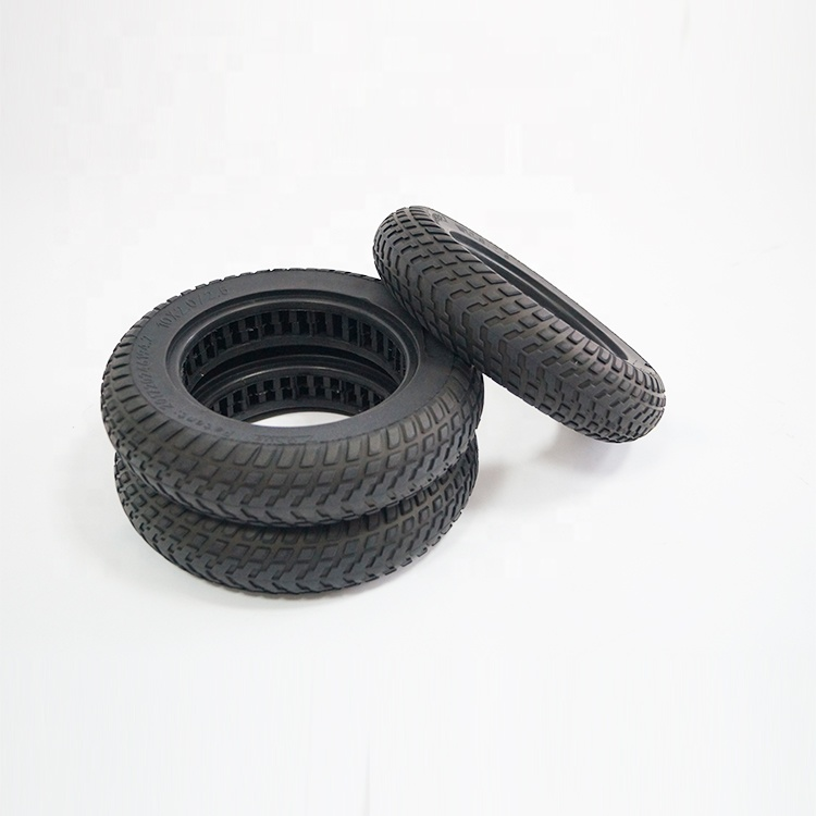 Big Size Hollowed 10x2.0/2.5 Solid Rubber <strong>Tire</strong> 10 Inch Scooter Tyre For Electric Scooter Xiaomi Mijia M365