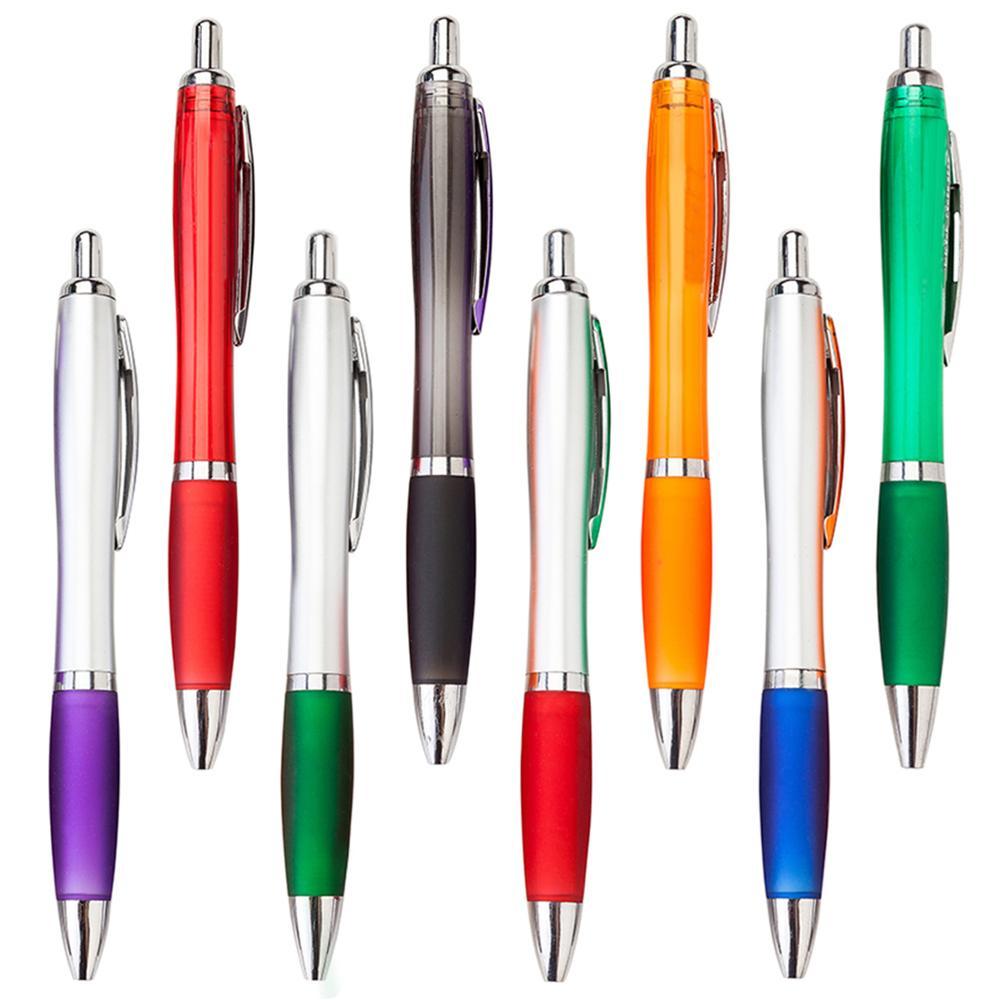 High quality ballpoint pen with custom logo promotional gift pen plastic ball pen