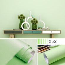 Спальня обои теплых оттенков чистый цвет наклейки на стену Мебель Ремонт наклейки водонепроницаемый ПВХ обои самоклеющиеся обои(Китай)