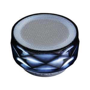 Portable Mini wireless sd card bluetooth speaker with led light