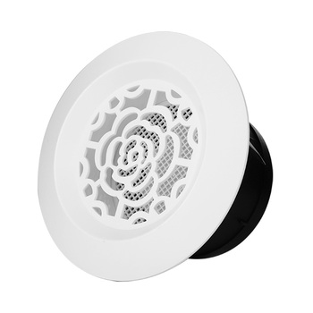 ABS plastic decorative air grille outlet ventilation round shaped ceiling air vent diffuser cover