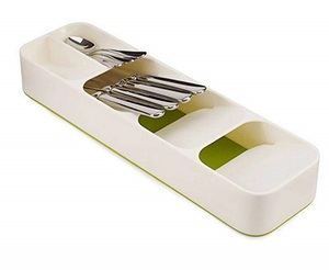 Kitchen Cutlery Drawer Organizer Creative Eco-Friendly Storage Box Kitchen Drawer Organizer Tray