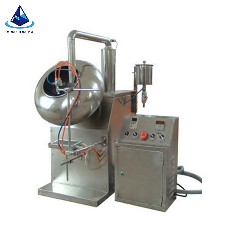 Automatic stainless steel pharmaceutical coating machine BYC-400/600 /pill making/tablet polishing