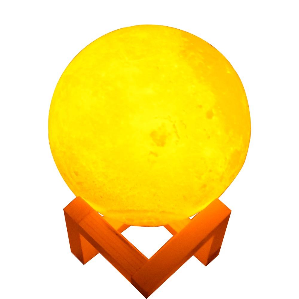 3D Levitante lampada luna Realistico luna di Galleggiamento della Lampada Luna Per La Decorazione