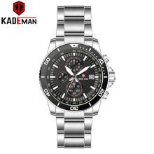 KADEMAN 2020 Топ бренд класса люкс мужские часы 30 м водонепроницаемые часы с датой мужские спортивные часы мужские кварцевые наручные часы Relogio ...(Китай)