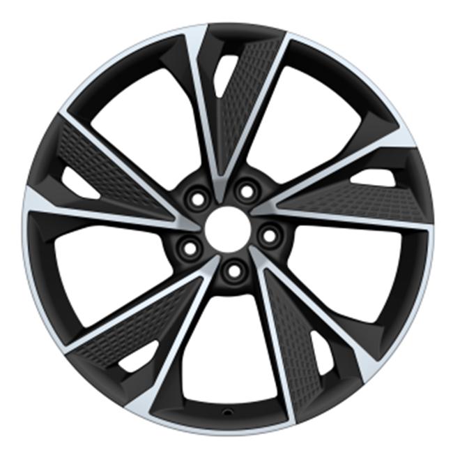 19/20/21 pulgadas nuevo modelo cóncavo 5 agujeros negro ZW rueda de aleación de aluminio de China