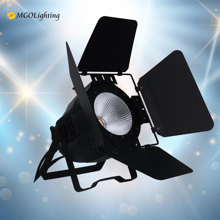 Dj Disco Light Indoor Cob 100W 200W Led Warm White Par Can Fresnel Led Stage Lights