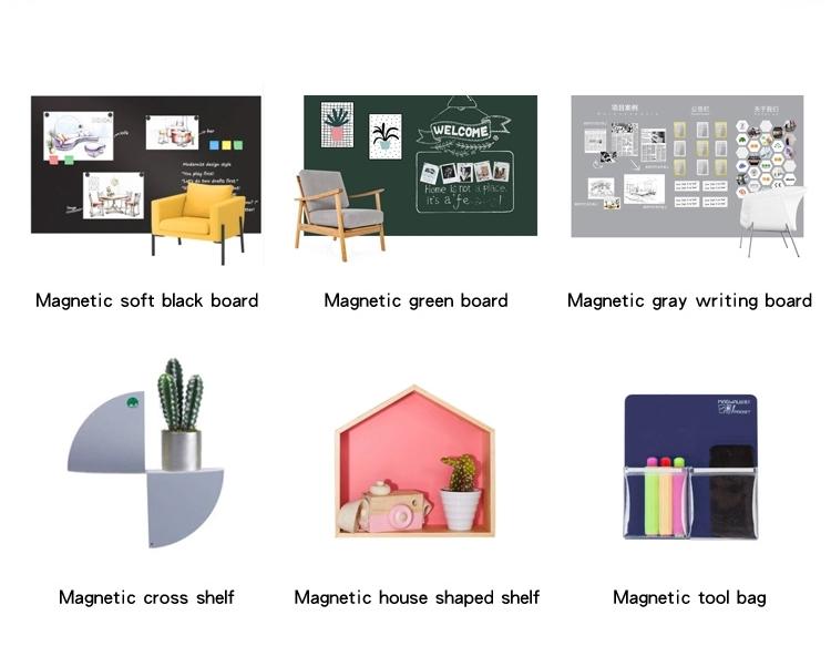 Magwall projeksiyon beyaz tahta yumuşak manyetik özel büyük boy plastik yazı aktivite kurulu manyetik sac malzeme