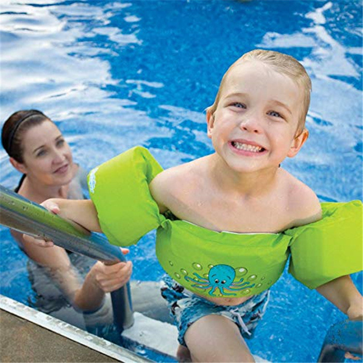 Water sports floating arm swimming ring swimsuit swim vest life vest kids life jacket