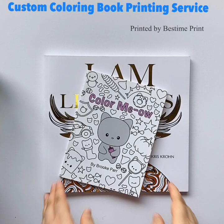 Print Adult Coloring Books High Quality Coloring Books for Adults Printing