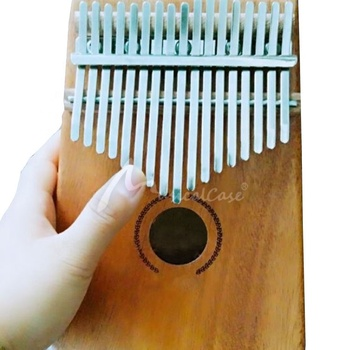 Wood Color Kalimba 17 Keys Thumb Finger Piano - Best Christmas Gifts