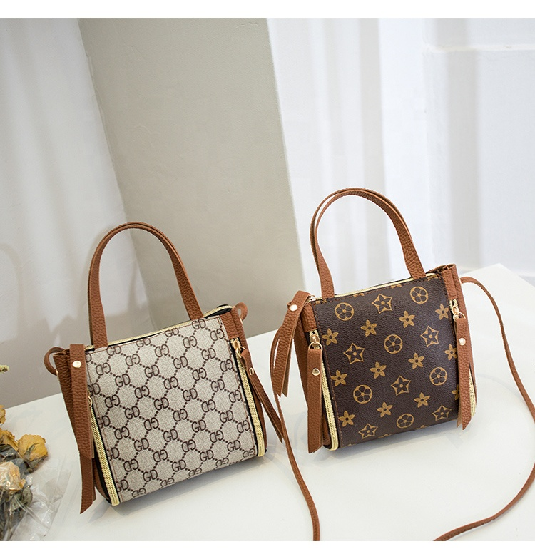 2020 Fashion New Style Luxury Handbags Pu Leather Tote Bags For Women Large Capacity