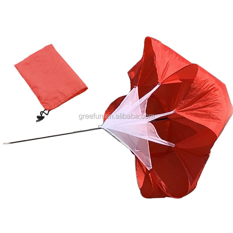 Parachute para Treinamento de Velocidade Parachute Guarda-chuva Executar Treinamento De Futebol para o Peso Rolamento de Corrida e Fitness Força do Núcleo de Trem