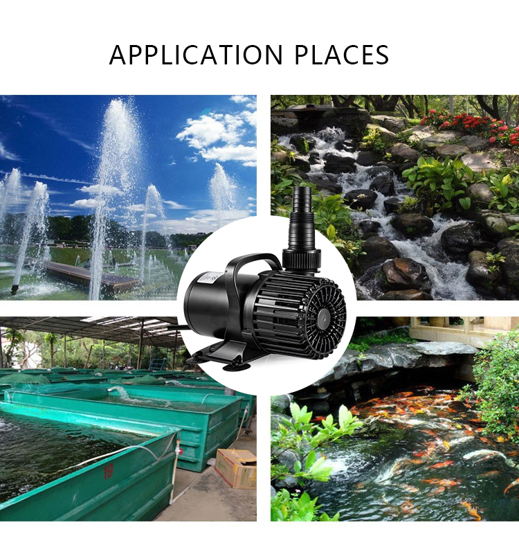 High quality submersible water  pump,pump submersible for pond,garden,waterfall,1640GPH (6200LPH)