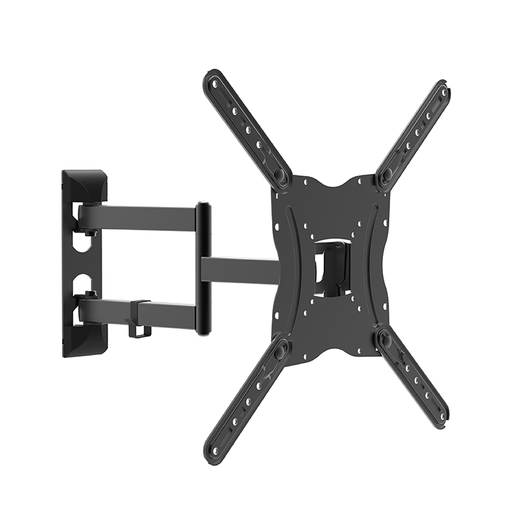 Lcd <strong>tv</strong> wall mount with 400*400mm vesa, 180 degrees <strong>swivel</strong> single arm <strong>tv</strong> wall mount <strong>bracket</strong>, up to 77LBS, articulating <strong>tv</strong> mount