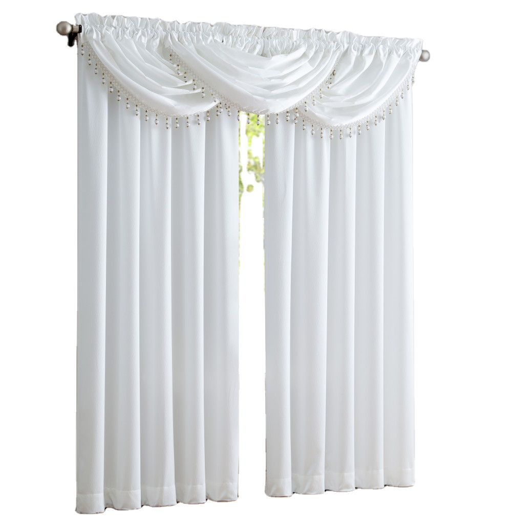 Modern Thick  Satin Curtains for Living Room Window Curtains for Bedroom Treatment Drapes Solid Color Curtains Finished Blinds