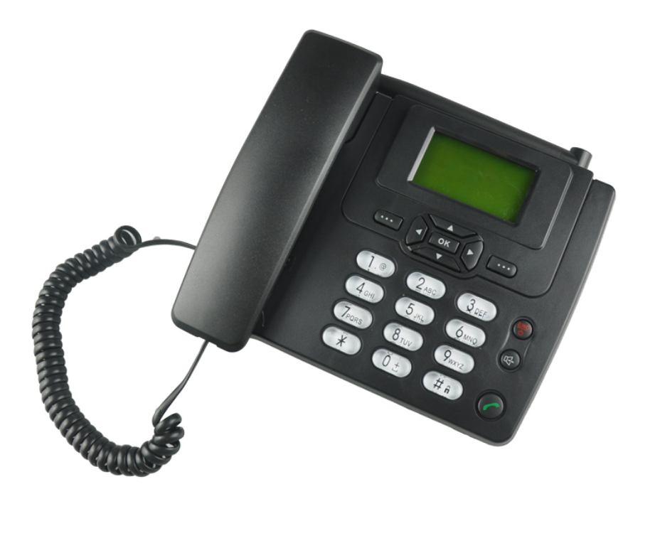 Landline Phone with SIM Card/FM Radio Cheapest ETS3125i GSM Wireless Desktop Table Telephone