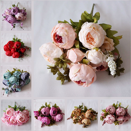 Hot Sale Silk Real Touch Artificial Peony Wedding Plastic Flower Bouquets Buy Plastic Flower Bouquet Wedding Bouquet Artificial Peony Flower Bouquet Product On Alibaba Com