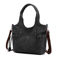 Factory cheap price laptop office bag cum for ladies heavy canvas tote Best Quality with