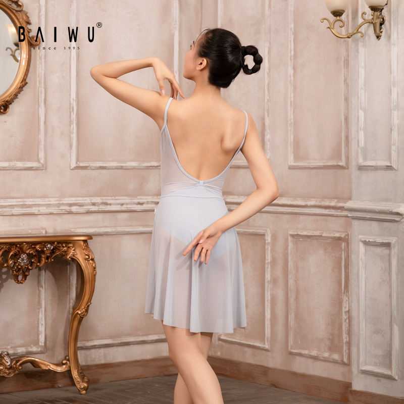 119141058 Baiwu High Quality Ladies Girls Ballet Leotard Dance Leotards