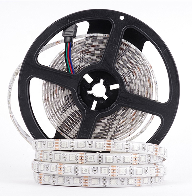 <strong>Rgb</strong> 12v Waterproof Ip65 5050 Smd Flexible Color Changing Outdoor Led Strip Lights