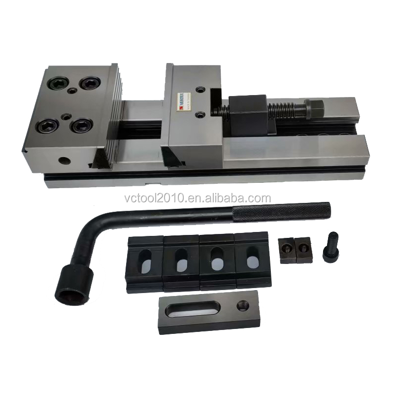 VERTEX Modular Precision Machine Vise VMP-6B Jaw Width 150MM Open 300MM High Quality Alloy Steel With HRC59