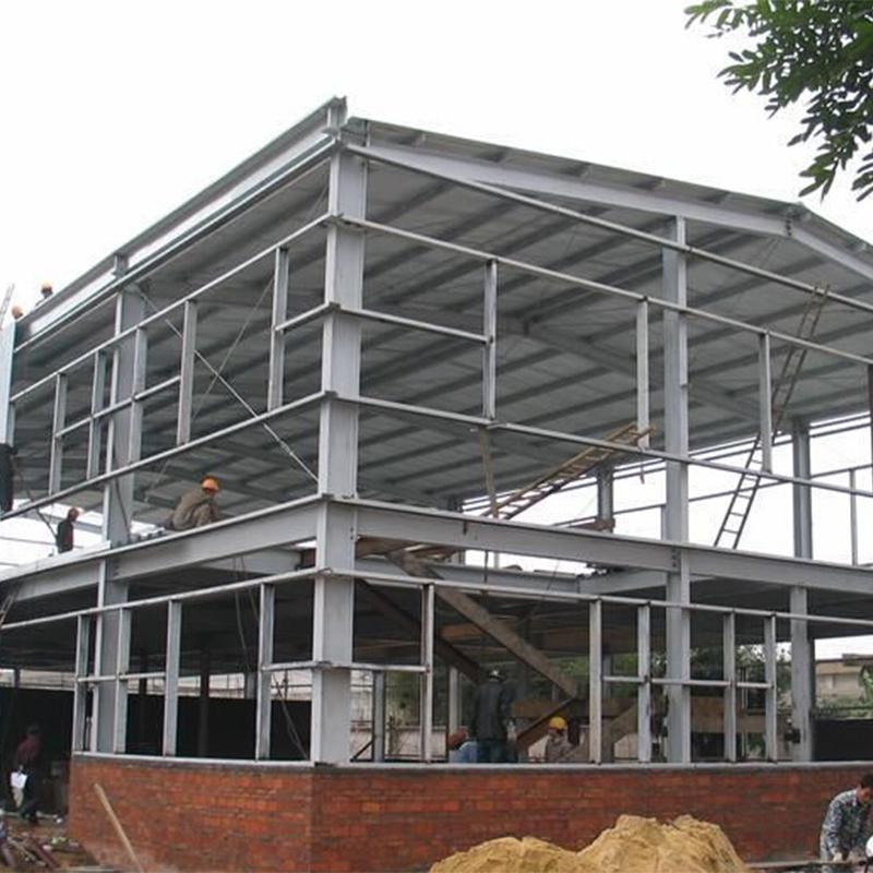 2018 yeni stil prefabrik çelik yapı park döken endüstriyel fiyat yapısal çelik