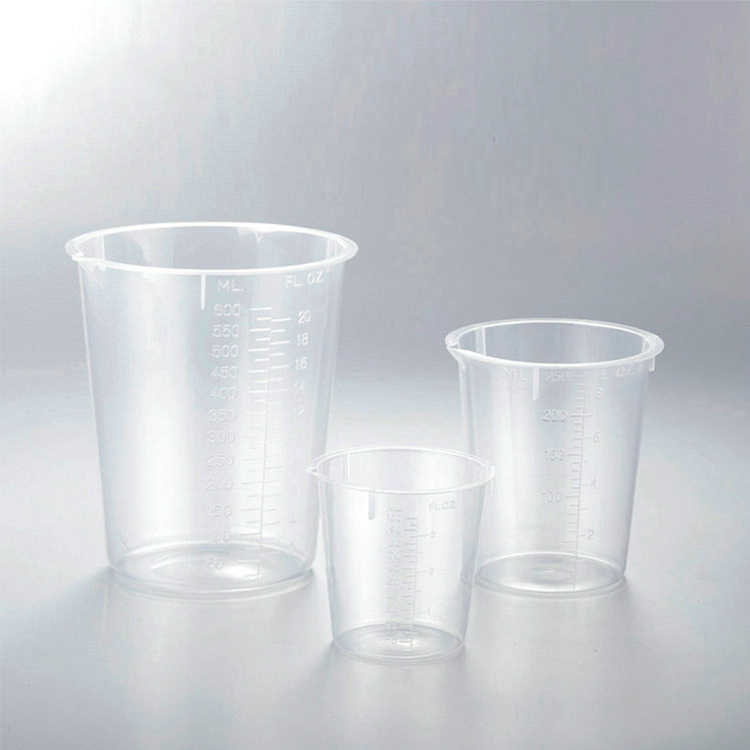 250ml 200ml 100ml 20ml glass adjustable plastic measuring cup of medicine