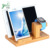 Bamboo Wood Charge Station Charge Dock Holder  For iPhone iPad