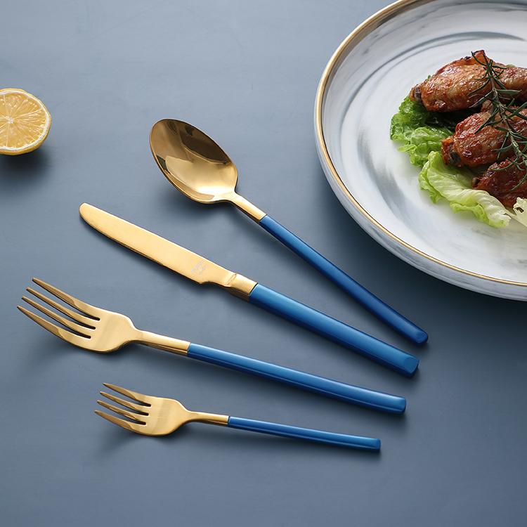毎日使用家庭用品食器 24 個ステンレス鋼カトラリーセット