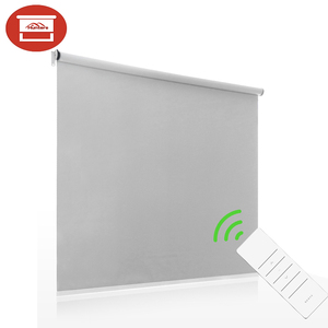Electrical roller blinds /Remote control sun shading roller shades/somfy motorized roller blinds