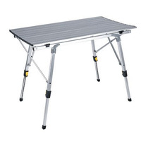 Tianye outdoor beach portable fold up aluminum picnic adjustable folding camping roll table
