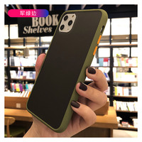 Grind arenaceous Transparent case case mobile phone dazzle color shell cover case cool For iPhone 11proMax XR XS max 7 8 plus