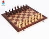 Hot sale 3 in 1 folding board game wooden backgammon & chess