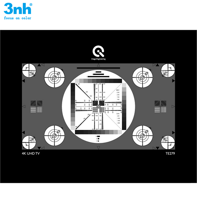 36-Patch low-noise 50db, 100db and 150db charts High Dynamic Range (HDR) 36 Level Test Card Transparent Test Chart for MTF