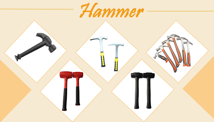 New Auto Repair Mechanical Non-slip Handle Hardware Tool Shockproof Rubber Mallet Hammer Size, Rubber Hammer