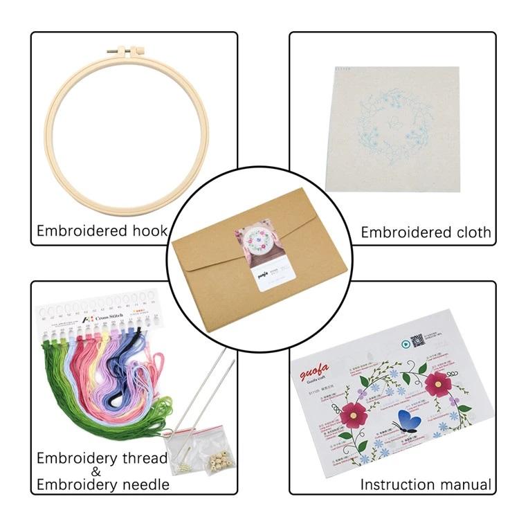 Chinese Style Landscape Cross-stitch Kits Modern Diamond Embroidery Art