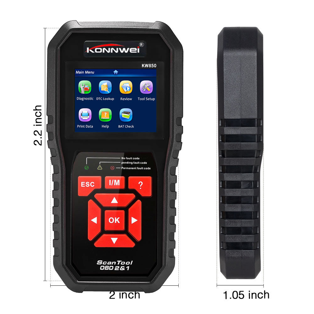 Vehicle Code Reader >> Konnwei Kw850 Obdii Obd2 Eobd Car Vehicle Code Reader Auto Diagnostic Check Engine Auto Scanner 2019 Buy Universal Car Diagnostic Equipment Best