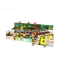 Colorful Cheap Facility Castle Amusement Indoor Playground Equipment