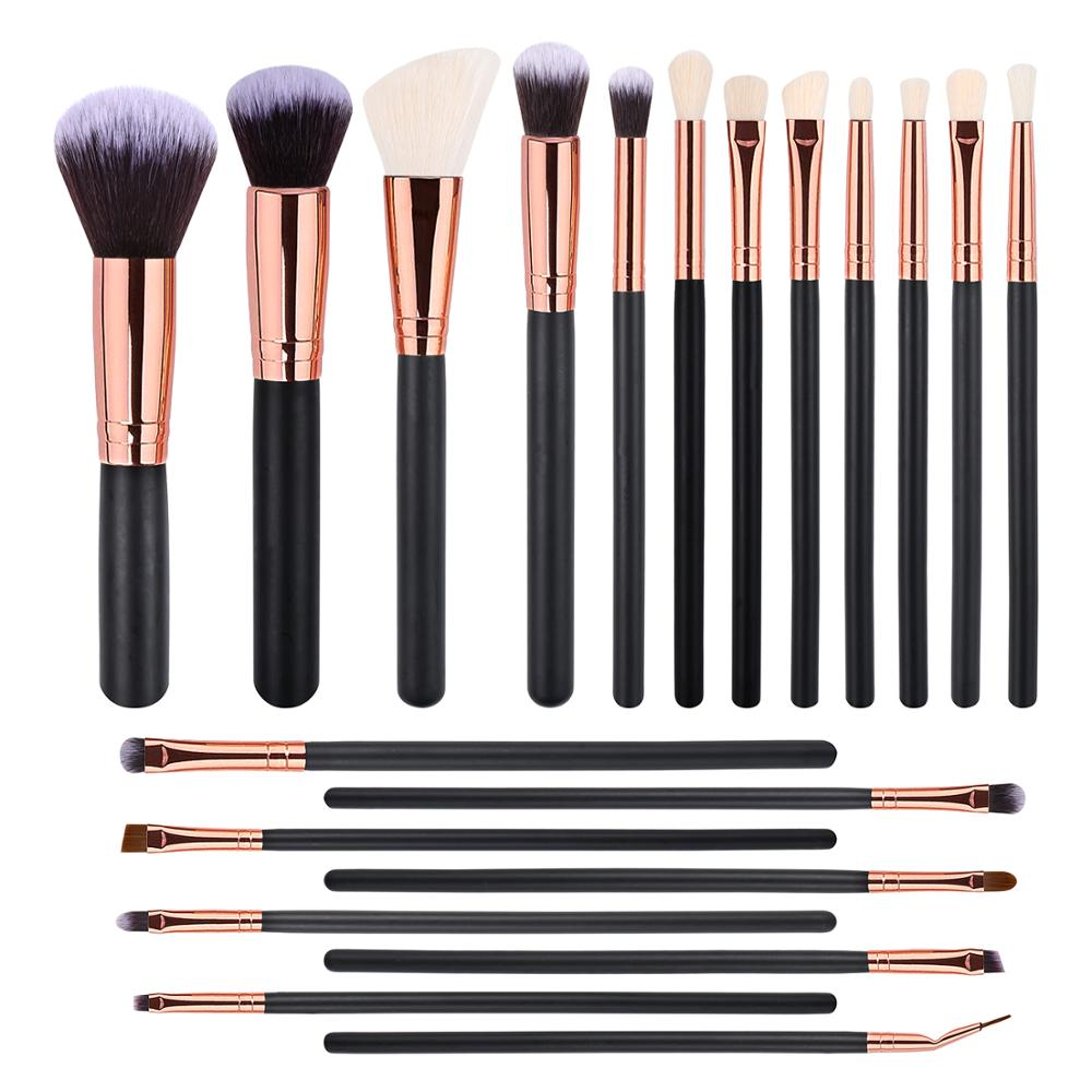 <strong>makeup</strong> <strong>brush</strong> set, 2019 New Model Amazon 20pcs New Travel <strong>Makeup</strong> <strong>Brushes</strong> <strong>High</strong> <strong>Quality</strong> <strong>Makeup</strong> <strong>Brush</strong> Set free samples