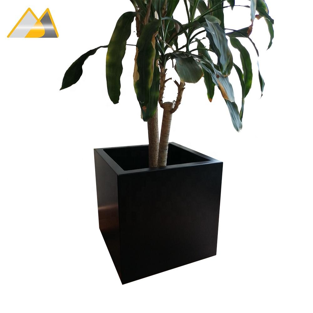Ningbo Audemar Decorating Aluminum Planter In Powder Coating/indoor Large  Decorative Planters/indoor Decorative Pots Planters - Buy Aluminum
