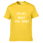 Good quality factory directly custom dri fit t shirts printing sublimation all over quick dry t shirt