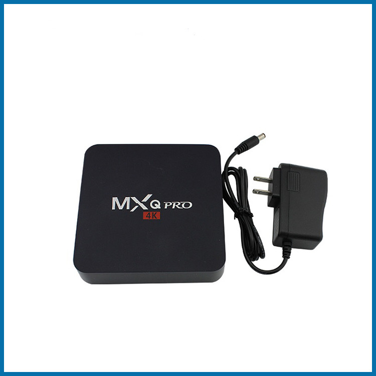 MXQ-4K set top box download App 4K HD network player Android TV box hot selling tv box