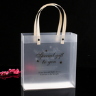 Pp Plastic Bag Carton Packing Manufacturer Customized Environmental Protection Transparent Frosted Pp Handbag Plastic Packed Shopping Bag