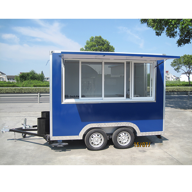 Madison Crown Food Sample Carts Small Fast Food Trailer for Vendors